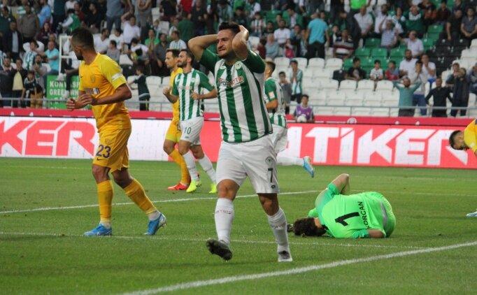 Konya golü bulamadı, Ankaragücü puanı aldı
