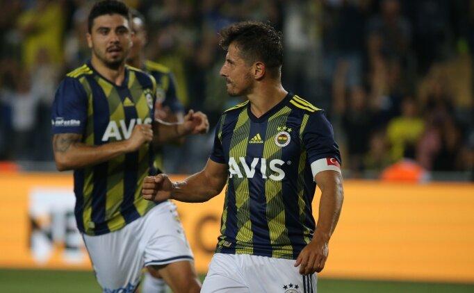 Emre Belözoğlu'ndan Kadıköy'ü ayağa kaldıran performans