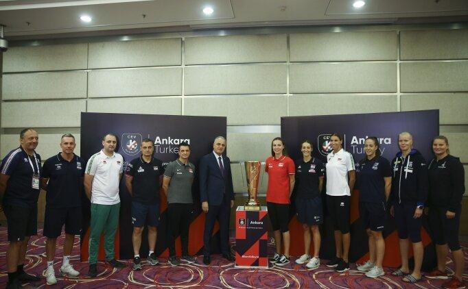 Kadınlar Voleybol Avrupa Şampiyonası başlıyor!