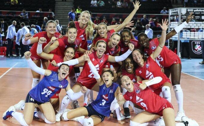 Müthiş maçta Fransa, Bulgaristan'ı 3-2'yle geçti!