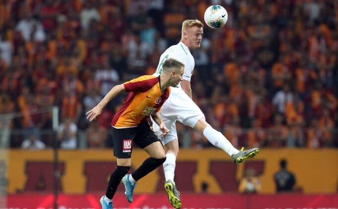 Galatasaray'a 90+6'da şok: 1-1!