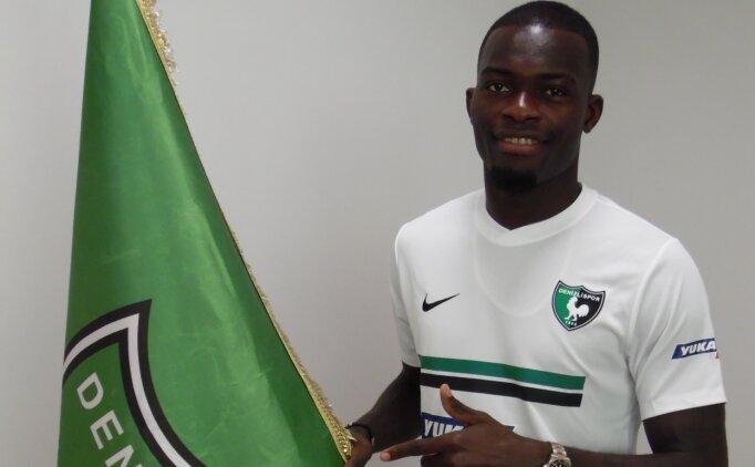 Isaac Sackey, Denizlispor'a transfer oldu