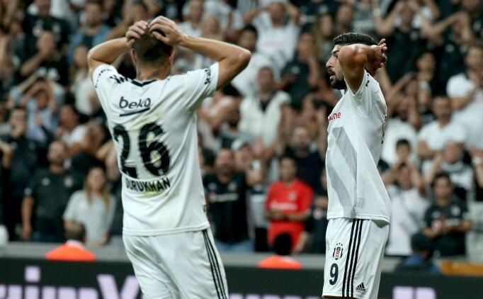 Beşiktaş golü bulamadı, 3 puana ulaşamadı
