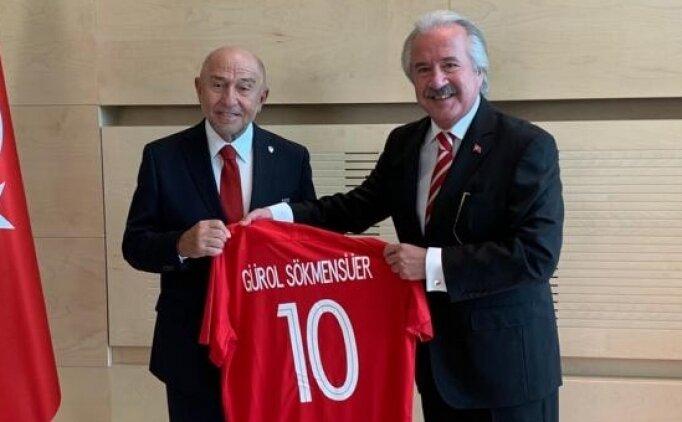 Nihat Özdemir'den Kişinev Büyükelçisi Sökmensüer'e ziyaret