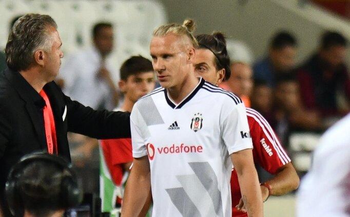 Beşiktaş taraftarından Vida tepkisi
