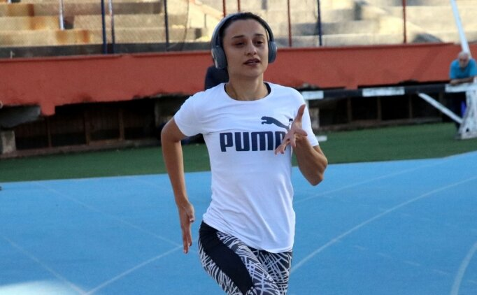 Milli atletin hedefi zirveye koşmak