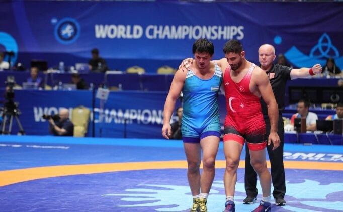 Milli güreşçi Taha Akgül, olimpiyat vizesi aldı!