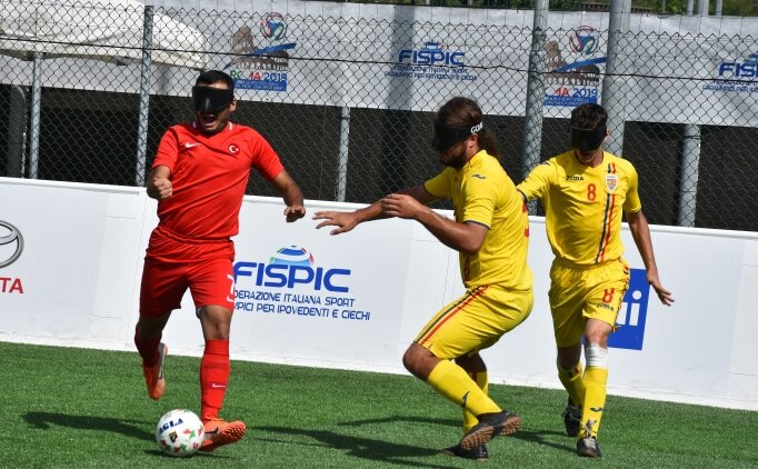 Görme Engelliler Milli Futbol Takımı'nda yarı final sevinci