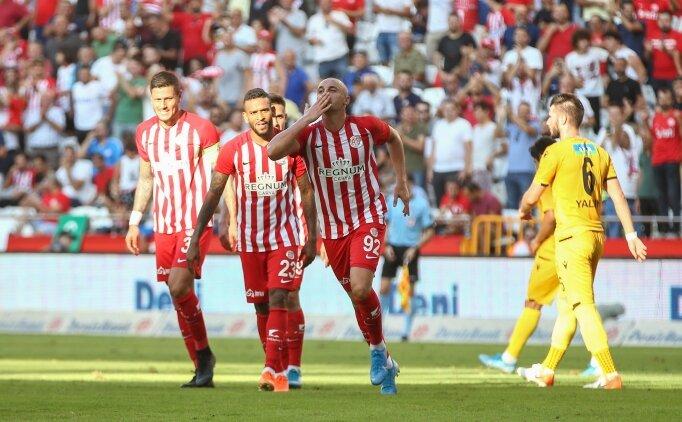 Antalyaspor, 4 hafta sonra galibiyeti hatırladı!