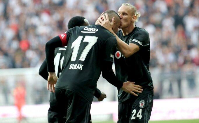 Beşiktaş lideri yıktı, kara bulutları dağıttı