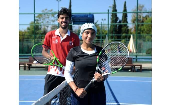 İşitme engelli milli tenisçiler, dünya şampiyonasında iddialı