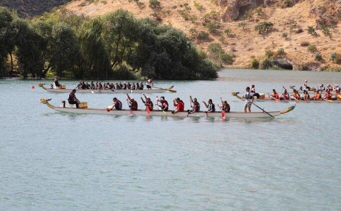 Uluslararası Rumkale Su Sporları Festivali gerçekleştirildi