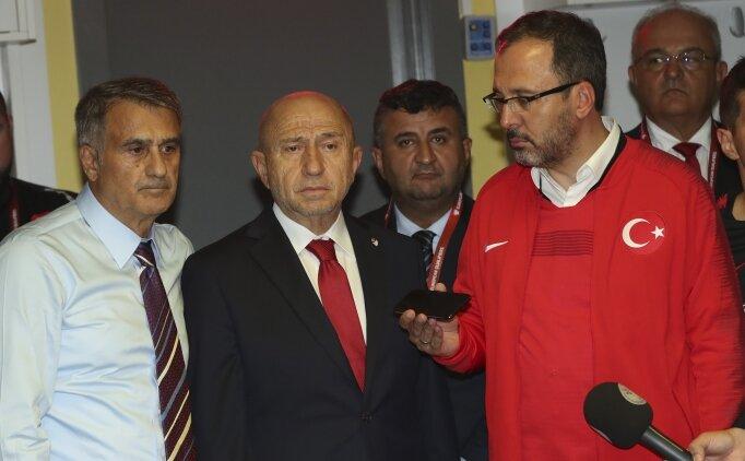 Cumhurbaşkanı Erdoğan'dan Millilere tebrik