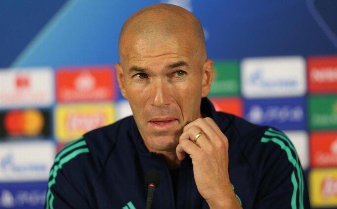 Zidane: 'Konuşulanlar beni rahatsız ediyor'