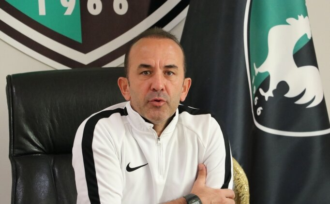 Mehmet Özdilek: 'Tüm maçları kazanma odaklı oynayacağız'