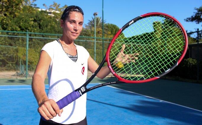 İşitme engelli tenisçi, sesini madalyalarla duyurmak istiyor