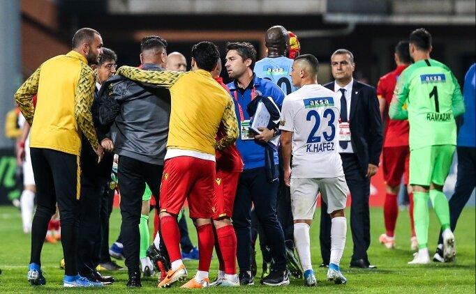Kasımpaşa'dan Malatya maçındaki olaylarla ilgili açıklama!