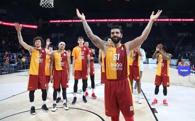 Galatasaray Doğa Sigorta, Daçka'yı son topta yıktı!