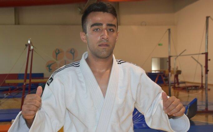 Televizyon izlerken judoya başlayan Nurullah'ın hedefi altın