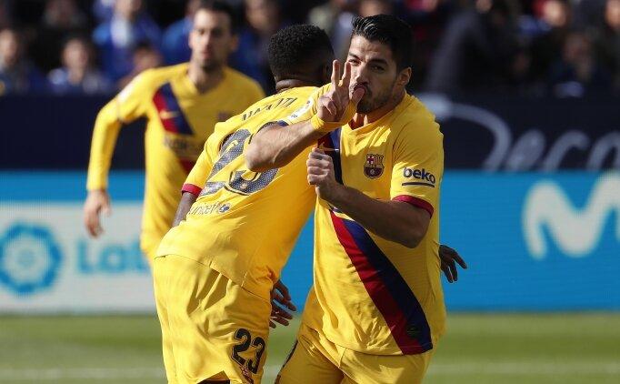 Barcelona bu sezon ilk kez geri döndü