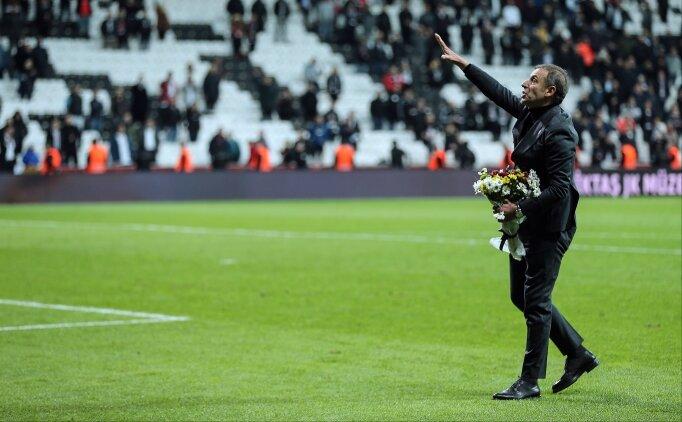 Maçtan sonra Abdullah Avcı'nın duygusal anları!