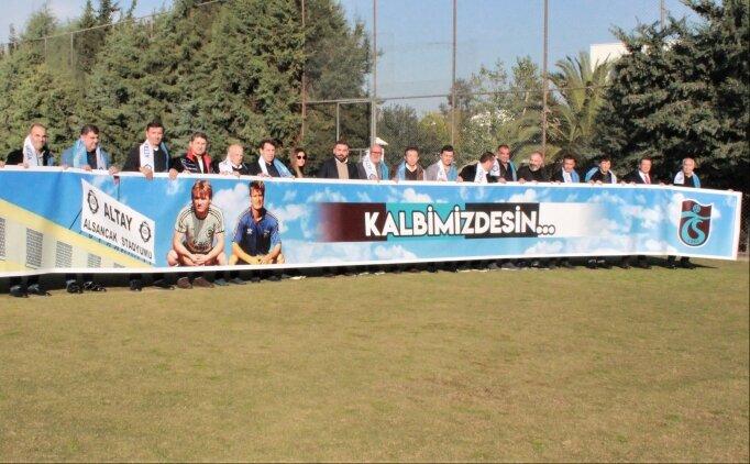 Altay ve Trabzonsporlu eski futbolcular maç öncesinde buluştu