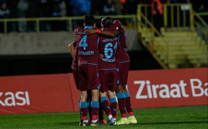 Trabzonspor, Kupa'da yıldızlarıyla güldü!