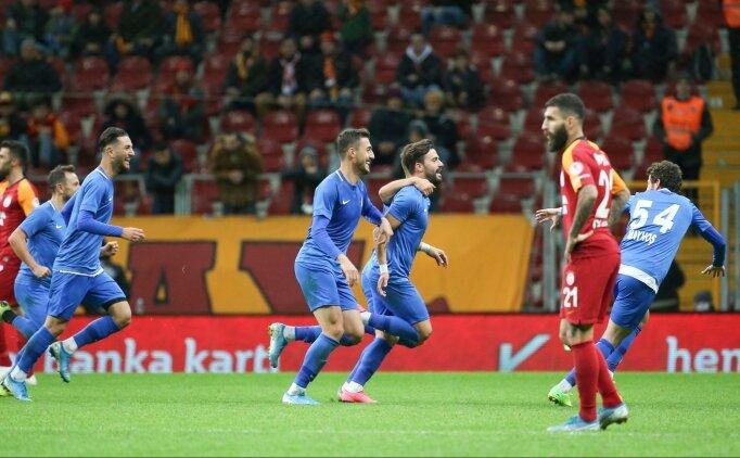 Türkiye Kupası'nda Galatasaray'a şok!