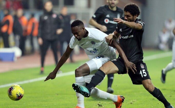 Beşiktaş'tan deplasmanda üst üste 3. galibiyet