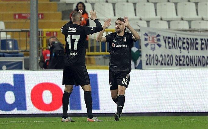 Beşiktaş'tan üst üste 6. galibiyet