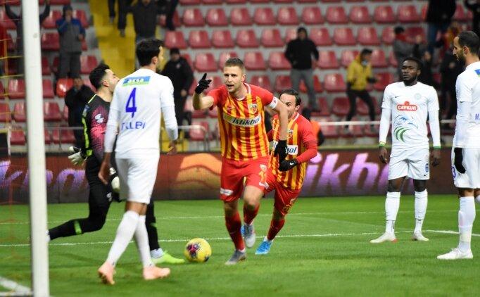 İstikbal Mobilya Kayserispor, 3 hafta sonra güldü!