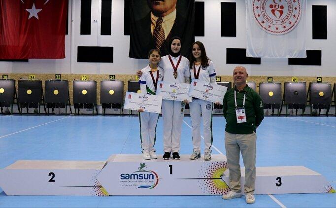 Salon Okçuluk Türkiye Kupası mücadelesi tamamlandı