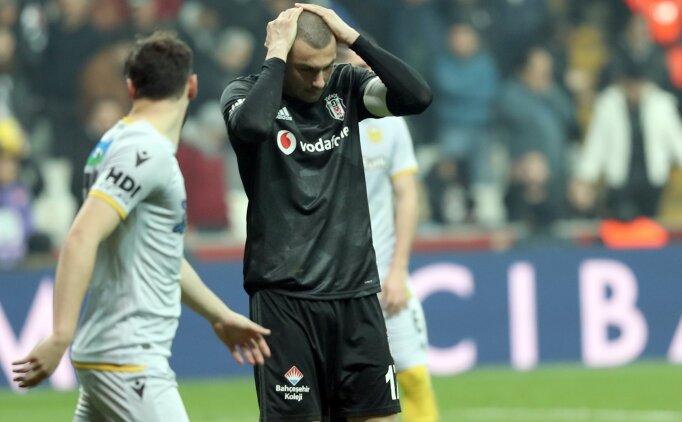 Beşiktaş, sekiz hafta sonra kayıp!