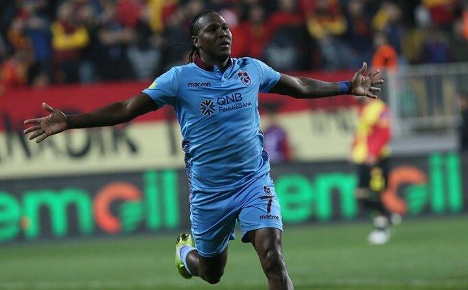 Trabzonspor'da vazgeçilmeyen adam; Hugo Rodallega