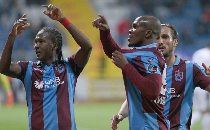Trabzon'u zirvede Rodallega-Nwakaeme tutuyor!