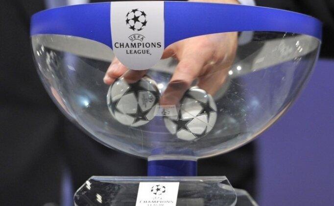 İşte Şampiyonlar Ligi eşleşmeleri!