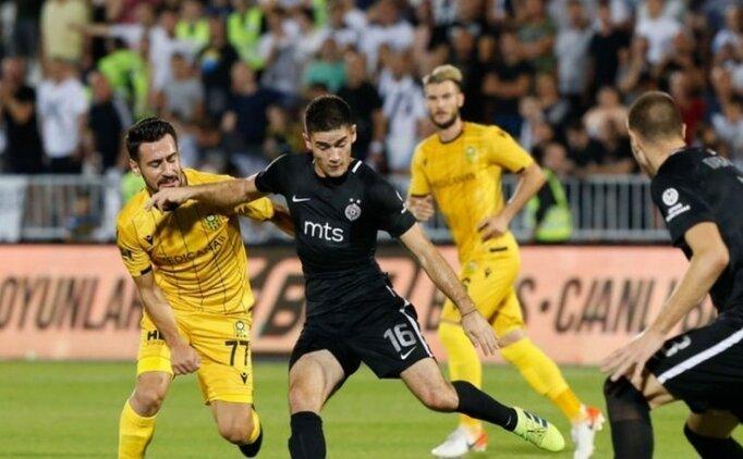 Yeni Malatyaspor'un konuğu Partizan!