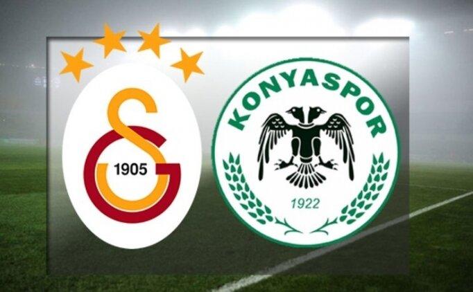 Galatasaray Konyaspor maçı özet İZLE, Galatasaray Konyaspor maçı skoru