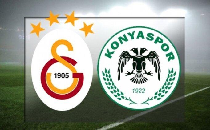 ÖZET: Galatasaray Konyaspor maçı tüm golleri İZLE