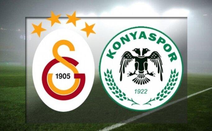 Konyaspor Galatasaray ÖZET İZLE, GS maçı kaç kaç bitti?
