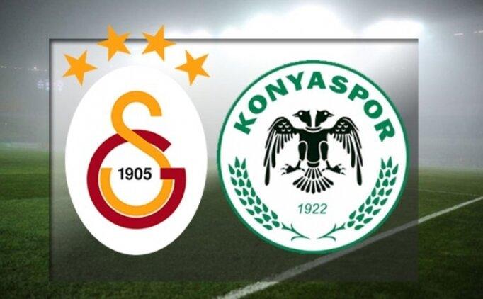 Galatasaray Konyaspor maçı özet görüntüleri ve tüm golleri izle