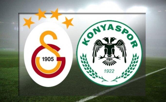 Galatasaray Konyaspor maçı özet ve golleri izle (beİN Sports)