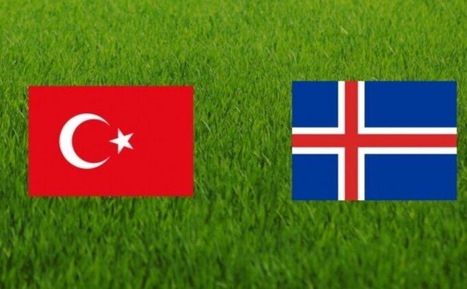 Milli Takım, Türkiye İzlanda maçı hangi kanalda saat kaçta başlayacak?