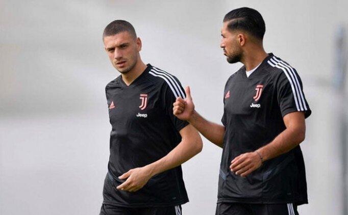 Juventus'ta Emre Can liste dışında kaldı! Merih...