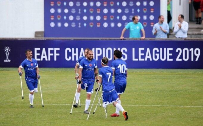 Ortotek Gaziler, Ampute Futbol Şampiyonlar Ligi şampiyonu