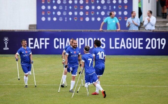 Ortotek Gaziler, Ampute Futbol Şampiyonlar Ligi'nde finalde!