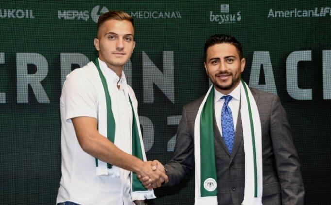Konyaspor'da Daci'nin sözleşmesi uzatıldı!