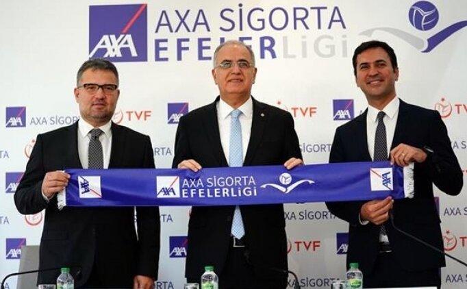 Efeler Ligi'ne yeni isim sponsoru