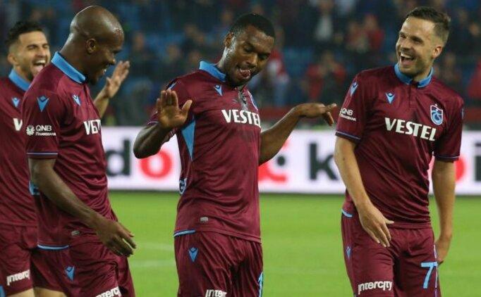 Trabzonspor'da meşhur dans sonunda geldi