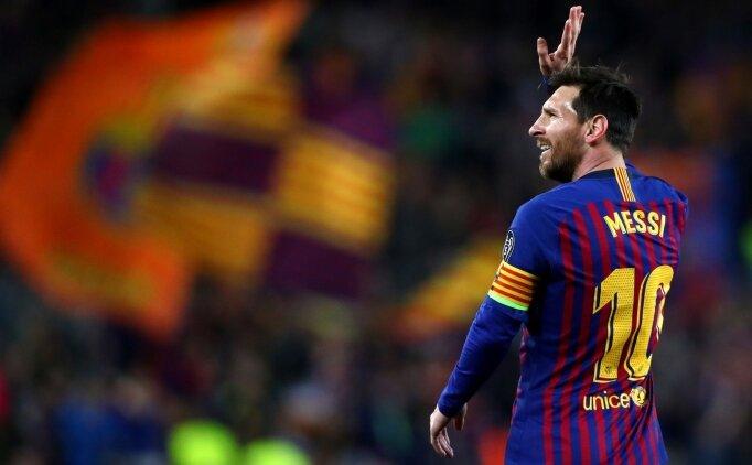 Lionel Messi'den bir rekor daha! Ronaldo'yu geçti